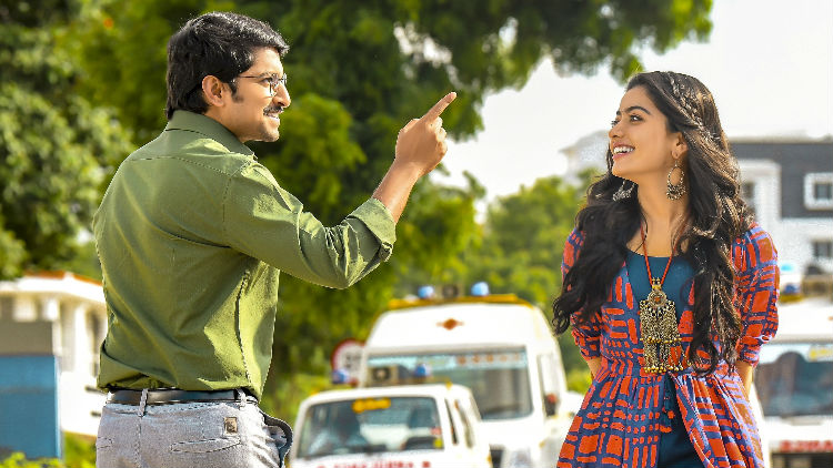 Nani Rashmika Still From Devadas