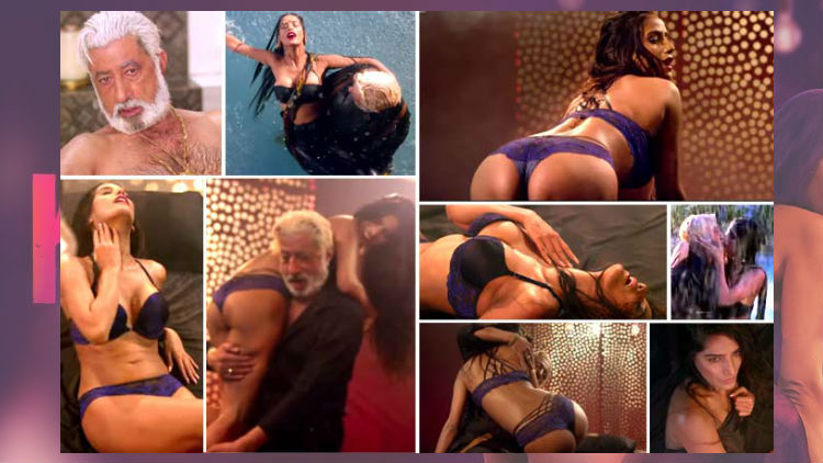 Poonam Pandey Hot Romance With Shakti Kapoor in The Journey of Karma