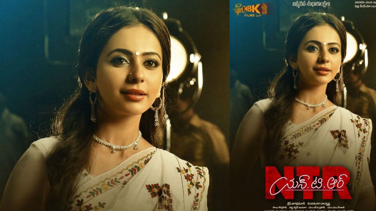 Rakul's First Look as Sridevi Released from NTR Biopic