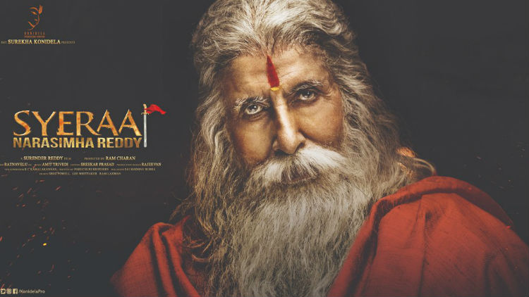 Amitabh Bachchan First Look Released From Sye Raa Narasimha Reddy