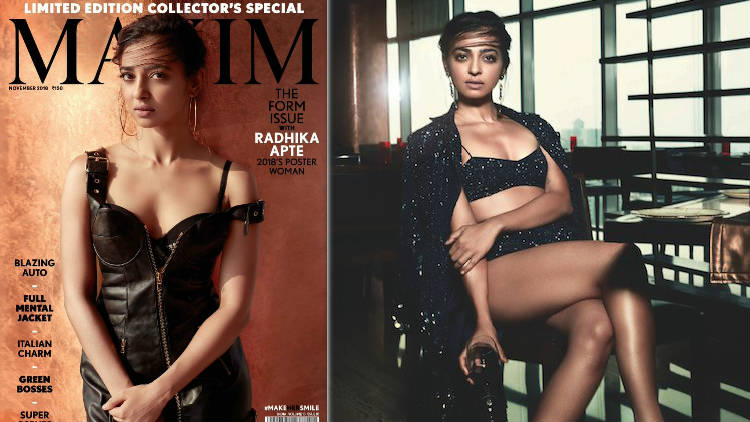 Radhika Apte's Maximum Hottest Photoshoot For Maxim Cover Page