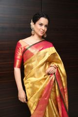 Kanganaranaut At Manikarnika Trailer Launch Photos