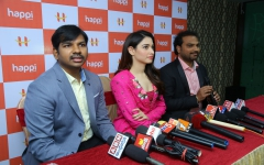 Tamannah Bhatia Launches HAPPI MOBILES at Bhimavaram