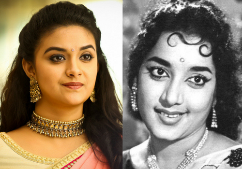 keerty suresh and jamuna