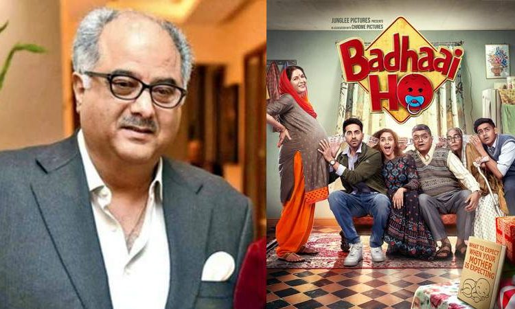 Boney Kapoor buys remake rights of Badhaai Ho