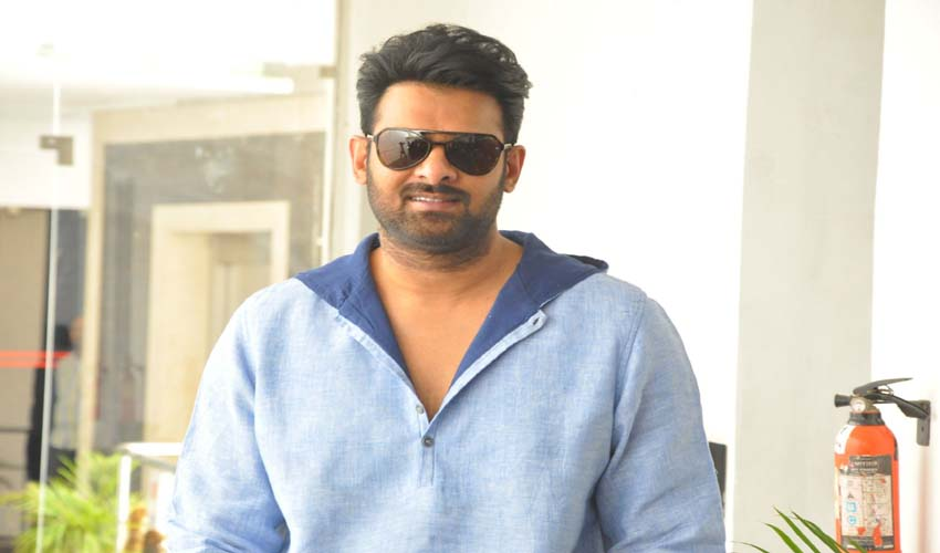 PRABHAS GETTING PROBLEMS WITH CHIRANGEEVI STRATAGEES!