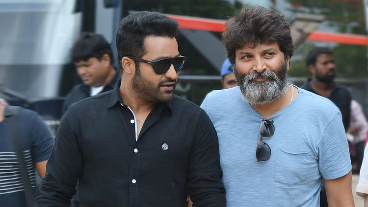 NTR Busy With Song Shoot of Aravinda Sametha