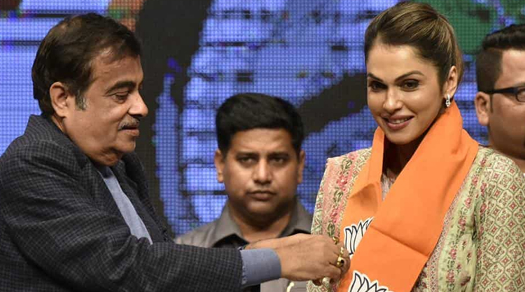 Bollywood actor Isha Koppikar joins BJP to head women transport wing