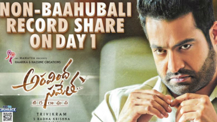 Aravinda Sametha Two Days Worldwide Box Office Collections