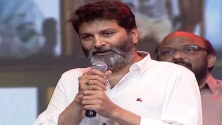 Trivikram Maintains Silence in aravinda sametha event