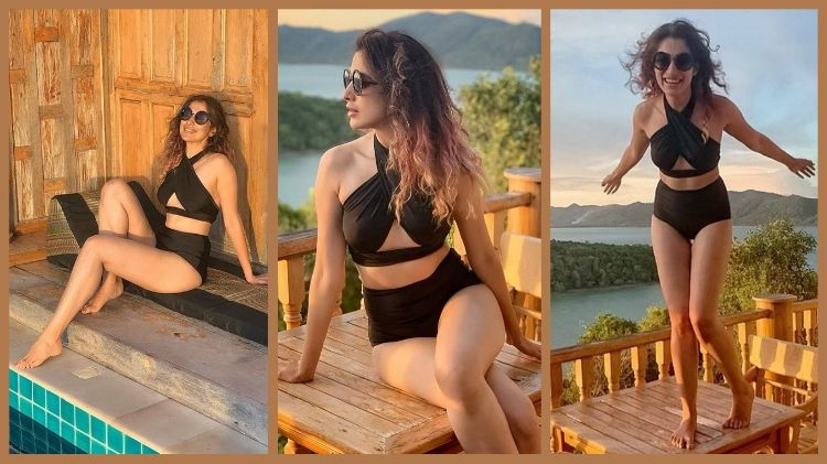 Raai Laxmi latest bikini photos