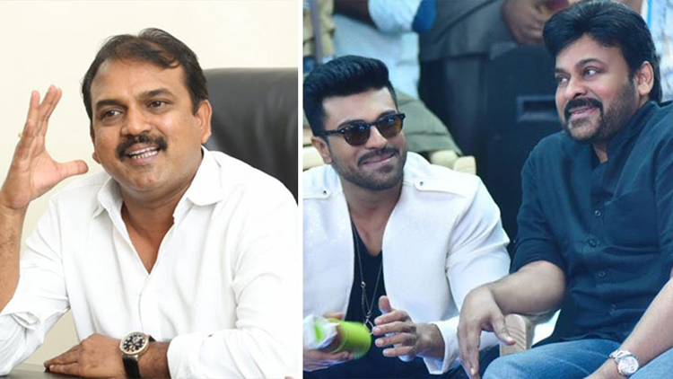 Koratala siva  Planning Big Movie With Chiranjeevi & Ram Charan