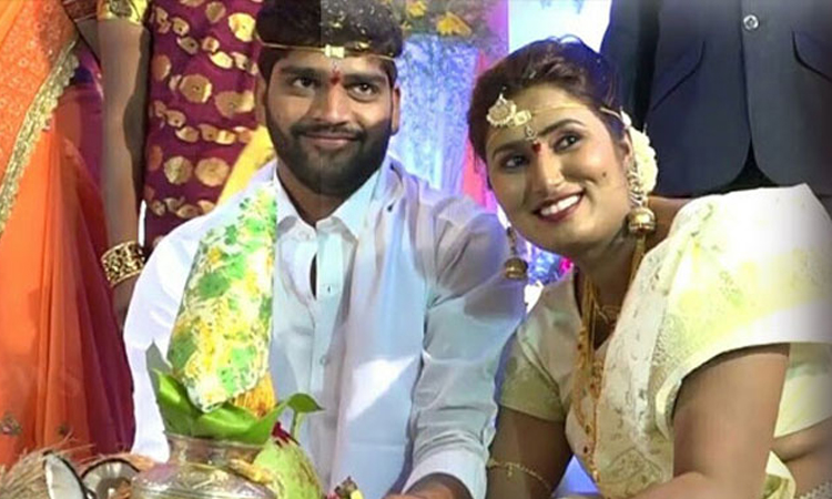 swathi  naidu real marriage photos