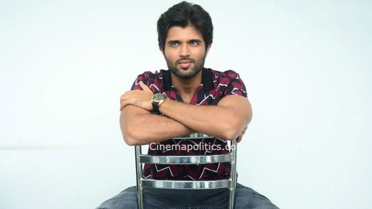 NIJAY DEVARAKONDA GOT WARNING FROM HIS MOTHER!