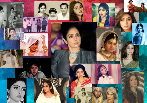 Queen of indian cinema Sridevi